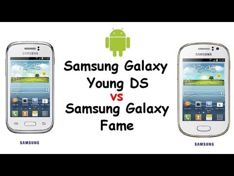 Samsung Galaxy Young vs Galaxy Fame | Budget Android Smartphones | Comparison