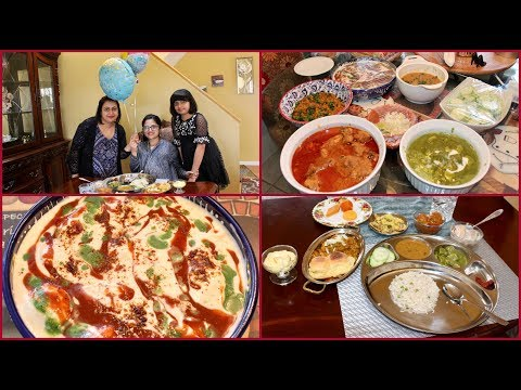 Baby Shower Party Vlog   Made 8 Different Recipes   Sunday Special Indian Lunch