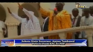 Aminu Tambuwal defects from APC to PDP
