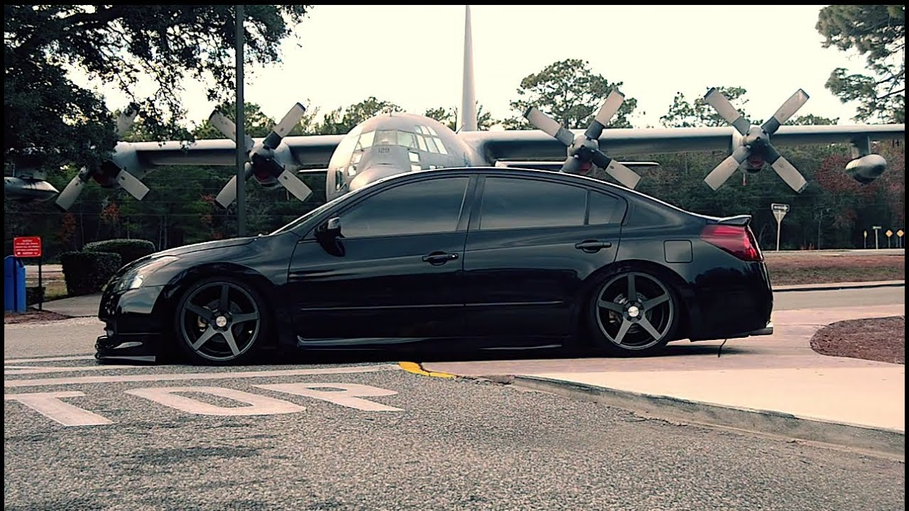 James S Bagged Nissan Altima Canibag Youtube