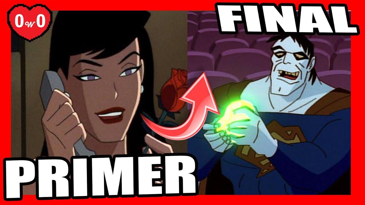 SUPERMAN TAS PRIMER VS ULTIMO CAPITULO