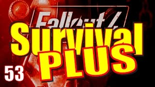 Fallout 4 Survival Mode Walkthrough Part 53 - Airship Down I Beat Survival PLUS