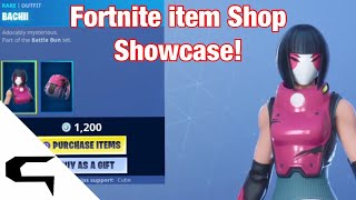 *NEW* BACHII SKIN! Fortnite item shop! July 29th 2019 - Fortnite Battle Royale