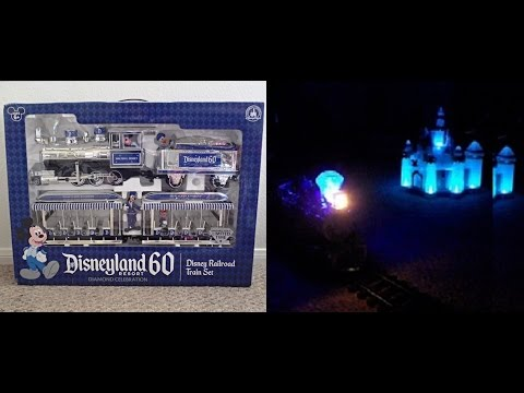 Disney Railroad Train Set 60th Anniversary