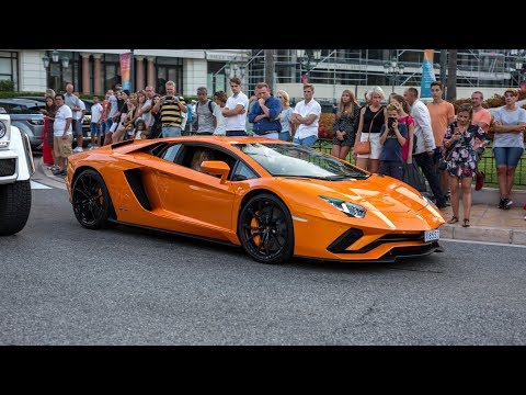 Lamborghini Aventador S – Acceleration Sounds & Driving in Monaco !