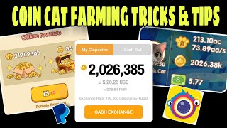 HOW TO FARM IN COINCAT | COIN CAT FARMING TRICKS AND TIPS 2020