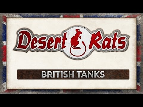 Know Your Desert Rats - Tanks
