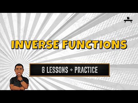 Algebra: Inverse Functions