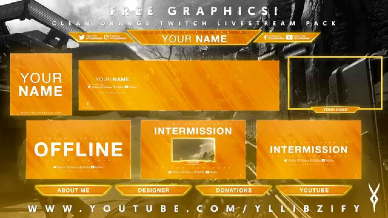 FREE Twitch Panel Theme Packs Free Twitch Streaming t