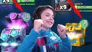 2X LEGENDARY IN GOLDEN & MAGICAL CHEST - Clash Royale
