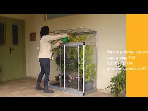 Przyscienna Szklarnia Lean To Grow Palram Youtube