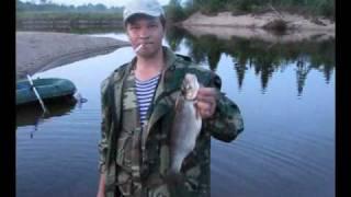Рыбалка на р. Уфтюга(р. Уфтюга, Красноборский район., 2010-02-16T12:19:38.000Z)