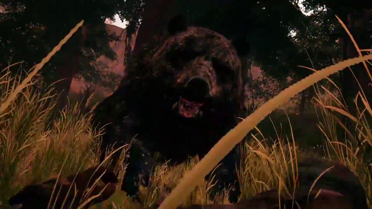 Far Cry Primal Ps4 Ataque Y Doma De Oso De Las Cavernas