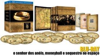A Trilogia O Senhor dos Anéis, O Homem que Mudou o Jogo e Sequestro no Espaço em Blu-ray