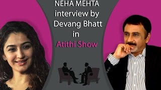 Best Gujarati Actress Neha Mehta | Tarak Mehta Fame | Interview by Devang Bhatt