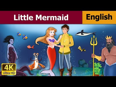 Little Mermaid in English   Story   English Fairy Tales