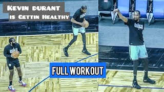 Nets Kevin Durant is looking healthy in NBA Workout