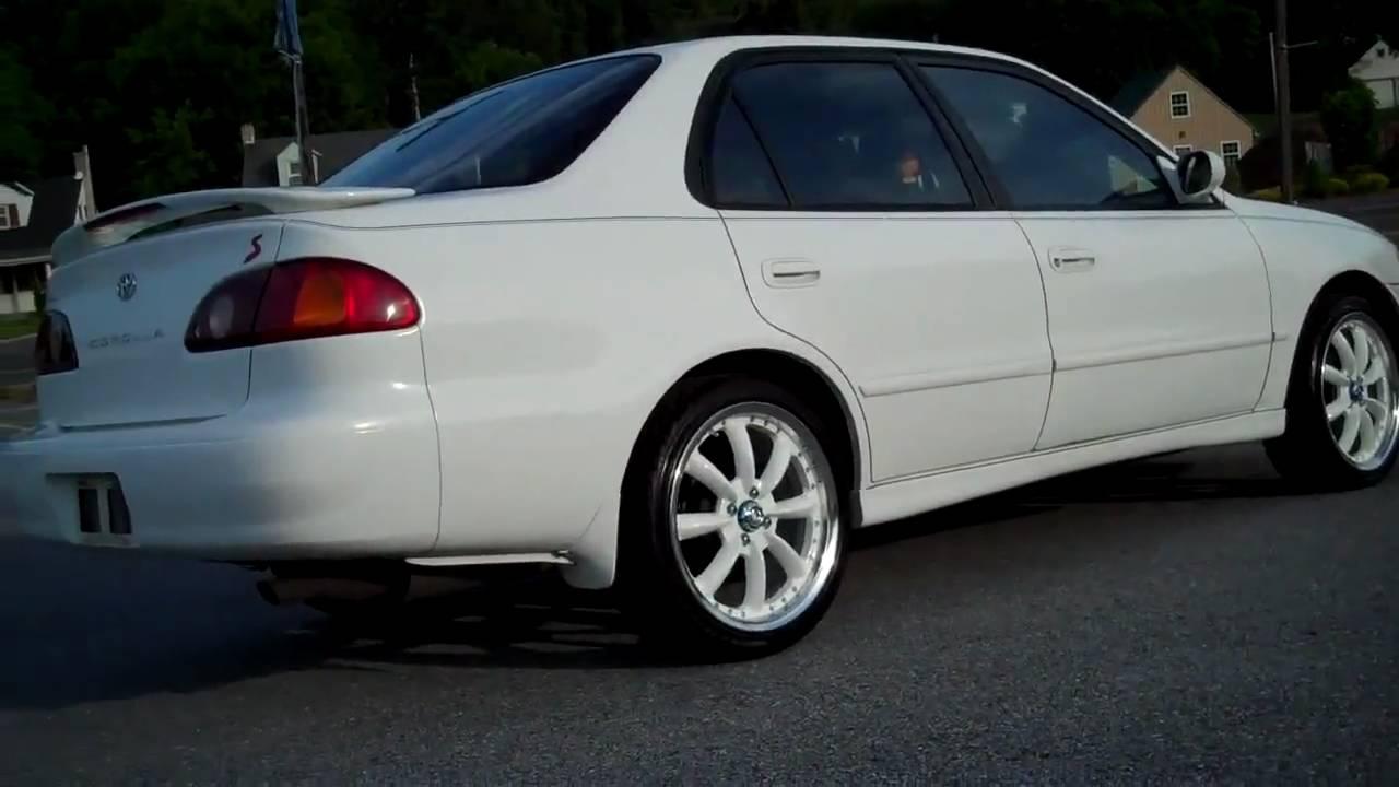 2001 Toyota Corolla Starter