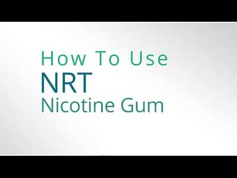 How to use the Nicotine Gum