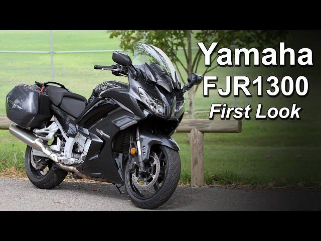 Yamaha FJR1300 - First Look & Impression