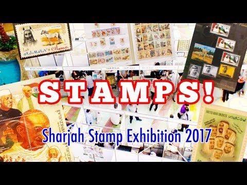 Sharjah Stamp Exhibition 2017