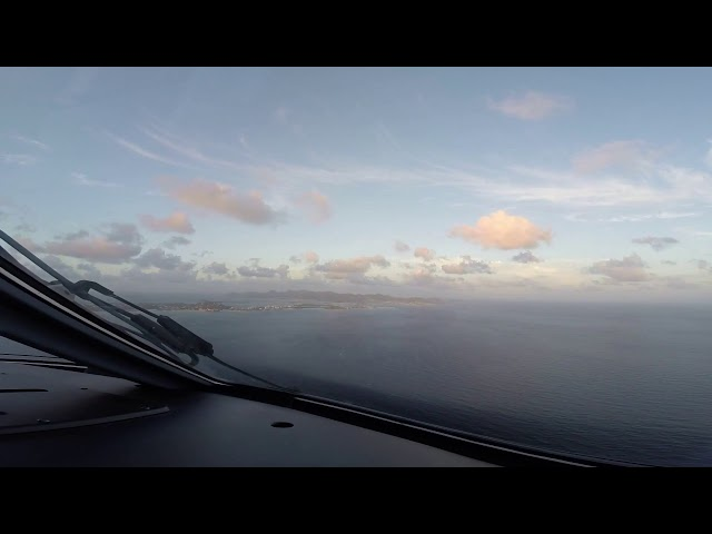 Landing at St Marteen E190 [HD]