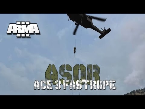 ACE Fast Roping - ArmA 3 Mod Demonstration