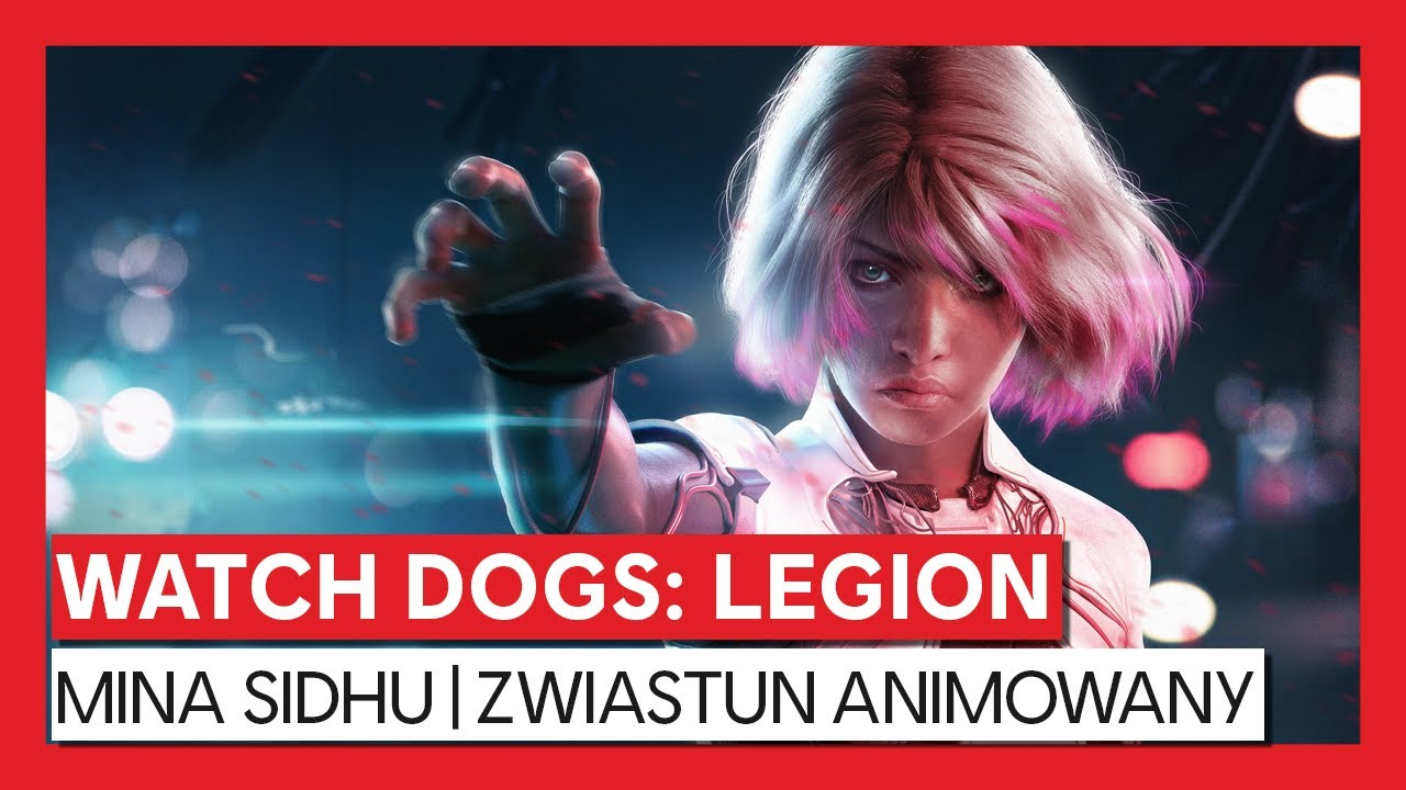 Watch Dogs: Legion - Mina Sidhu | zwiastun animowany
