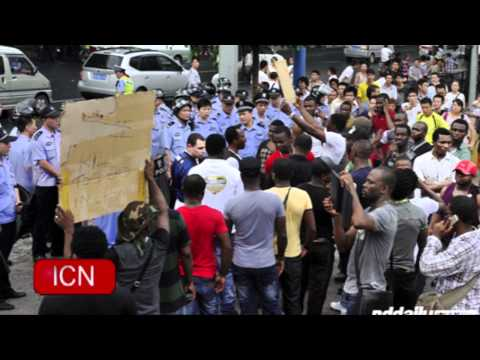 06.26.2012 ICNSF News - African Protests in Guangzhou