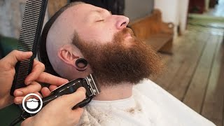Hair and Beard Trim to Achieve Grunge Look   Cut and Grind thumbnail