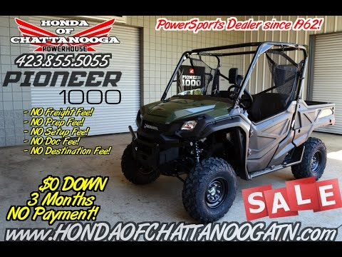 2016 Honda Pioneer 1000 For Sale   TN.GA.AL.NC.SC.FL.KY Area Side By Side /  UTV / ATV / SxS Dealer