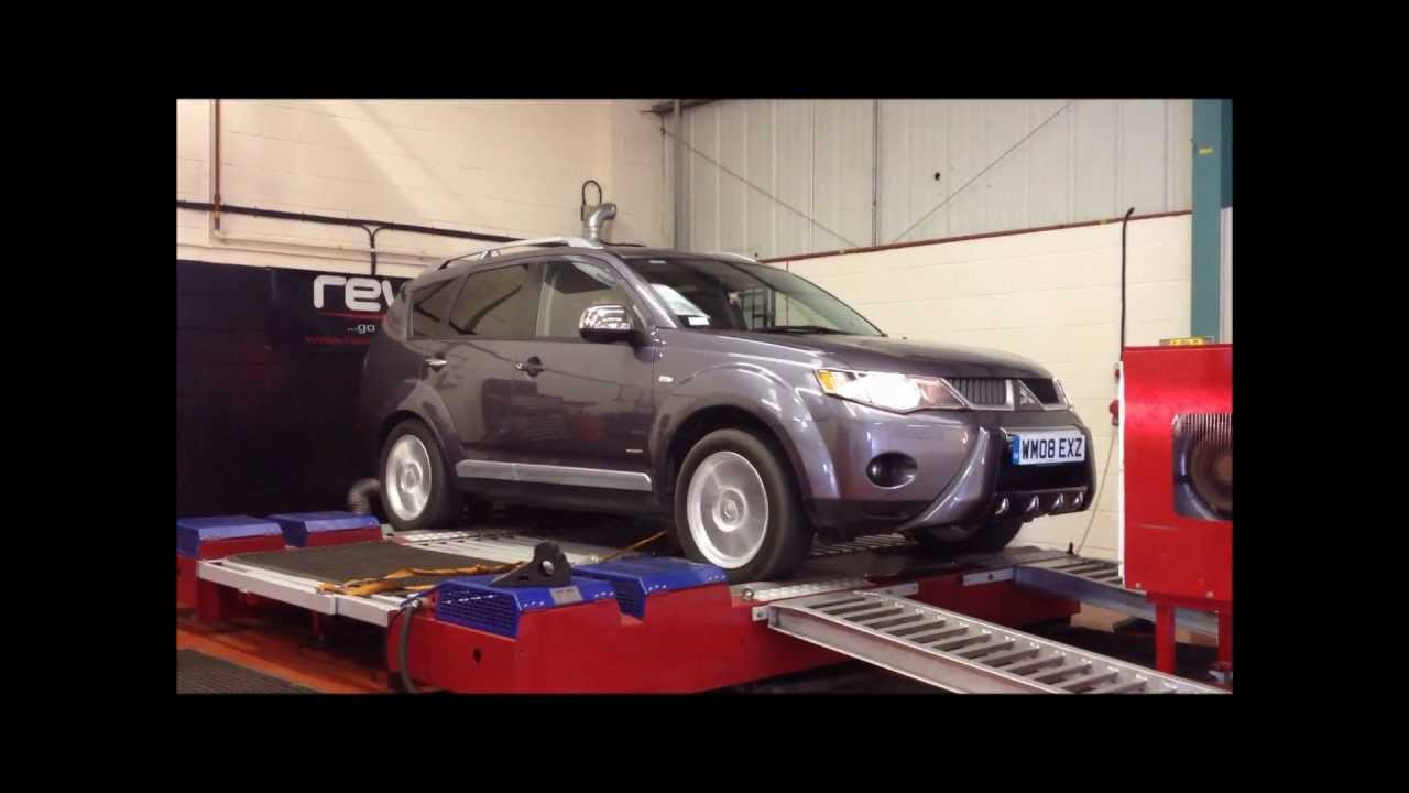 tuning the mitsubishi outlander 2 0 tdi at sedox. Black Bedroom Furniture Sets. Home Design Ideas