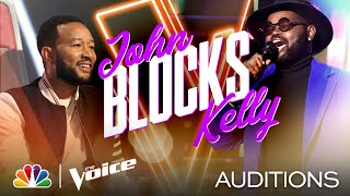"John Holiday's Surprising Voice Is Perfect for Ella Fitzgerald's ""Misty"" - The Voice Blind Auditions"