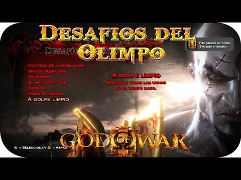 God of War 3   Desafios del Olimpo [Trofeo: Acepto el Desafio]
