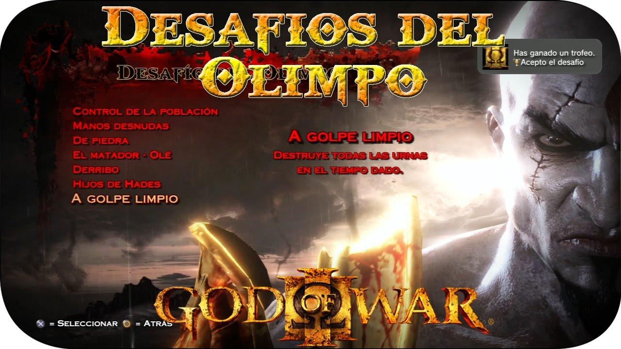 God of war 3 desafios del olimpo trofeo acepto el for God of war 3 jardines del olimpo