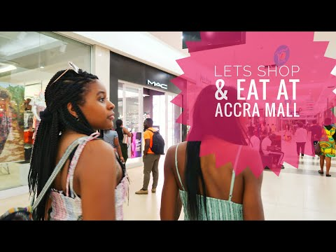 🇬🇭 Ghana Ep:9 Our 2nd day in Ghana! Accra Mall, Shopping and a GHANIAN meal at Rosejoy