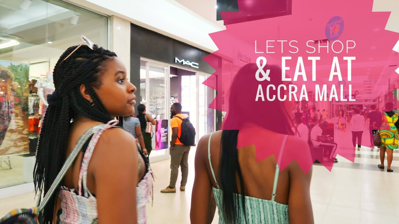 ???????? Ghana Ep:9 Our 2nd day in Ghana! Accra Mall, Shopping and a GHANIAN meal at Rosejoy