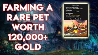 World Of Warcraft How To Farm The Rare Drop The Captured Firefly Worth 120,000 Gold