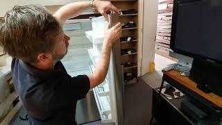 Fisher /& Paykel E522B Fridge-freezer Seal//Gasket Push In Free Express Post