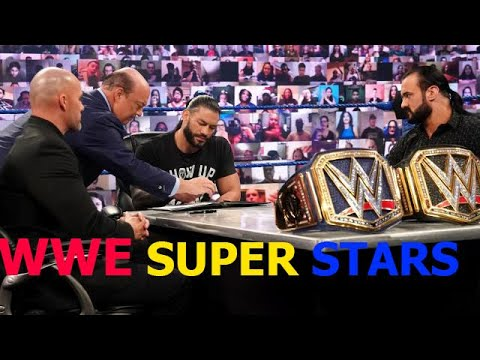 Download WWE Champion vs  Universal Champion contract signing  SmackDown, Nov  20, 2020