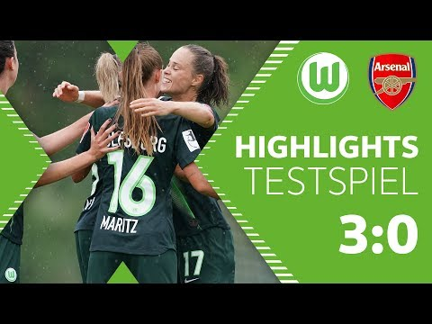 Deutlicher Sieg gegen Arsenal | Highlights | VfL Wolfsburg Frauen - Arsenal W.F.C. 3:0