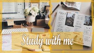 study with me 15 ♡ продуктивность ♡ спортзал ♡  егэ по литературе ♡ УЧИСЬ СО МНОЙ