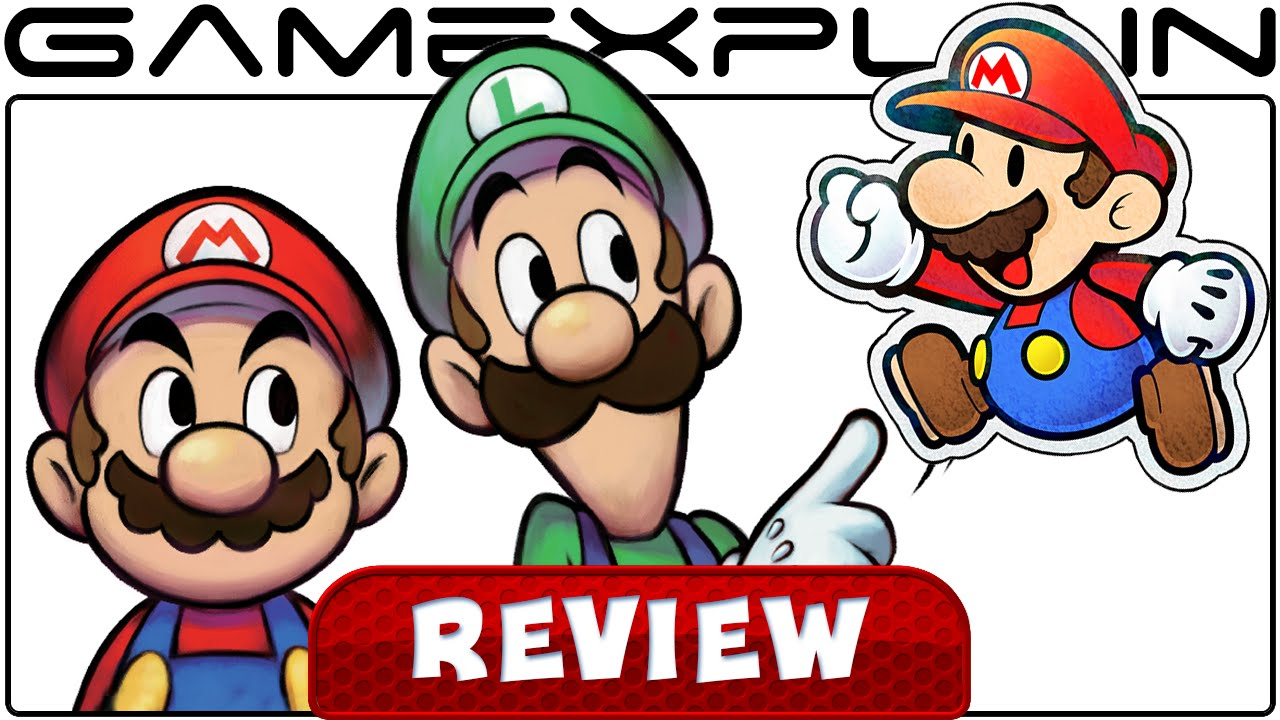 Mario Luigi Paper Jam Video Review Youtube