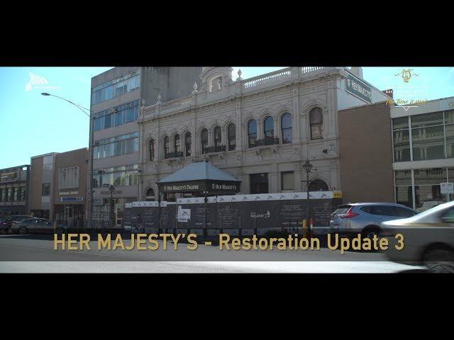 Her Majesty's Theatre Restoration Update 3