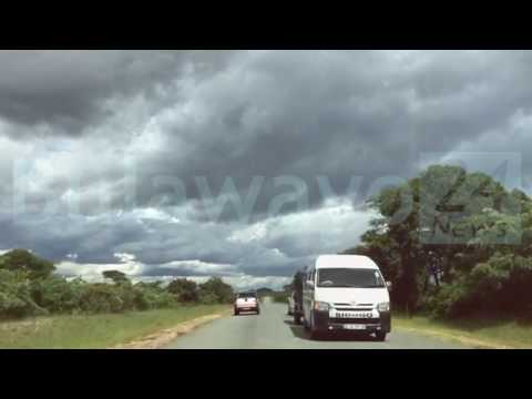BULAWAYO/BEITBRIDGE  HIGHWAY - Day after Cyclone Dineo