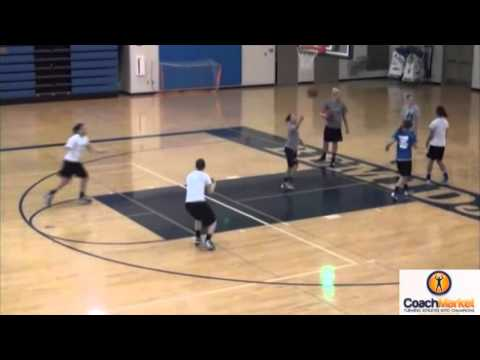 Passing/ Footwork Drill  Jerry Krause  www.coachmarket.net  Video