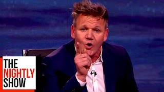 "Gordon Ramsay: ""You Don't Put Pineapple on a F**king Pizza!"""