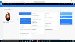 Description: a tour of dynamics 365 operations hr module . manage employees, contractors, certification, skills, performance and so much more.... presented b...