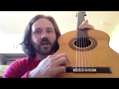 Classical and Flamenco Guitar basic techniques pt. 1: terminology