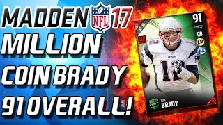 million coin brady team of the week bundles madden 17 ultimate team